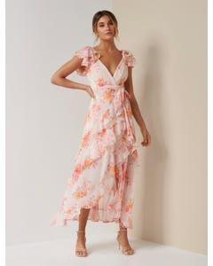Ellery Frill Maxi Dress