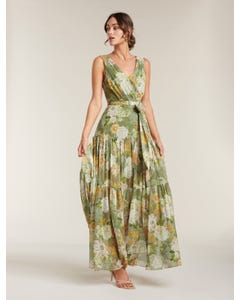 Winslet Gathered Maxi Dress