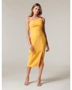 Franca One-Shoulder Midi Dress