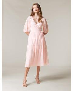 Cecilia Wrap Midi Dress