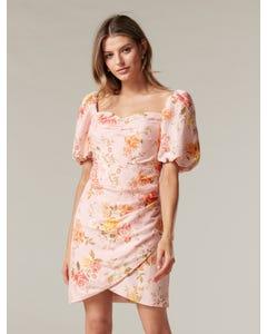 Flora Sweetheart Mini Dress