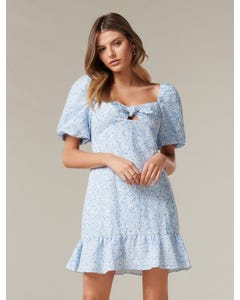 Bonnie Bow Mini Dress