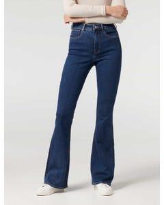 Farrah High-Rise Skinny Flare Jeans