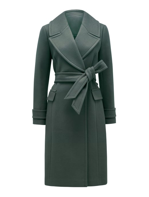 Stella Long Wrap Coat
