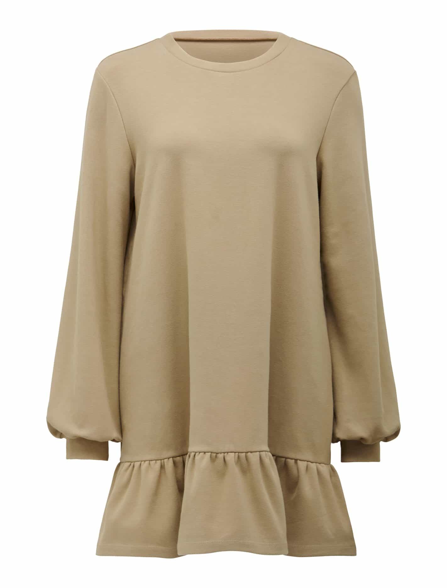 Lori Peplum Sweater Dress