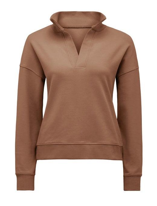 olympia collar loungewear jumper