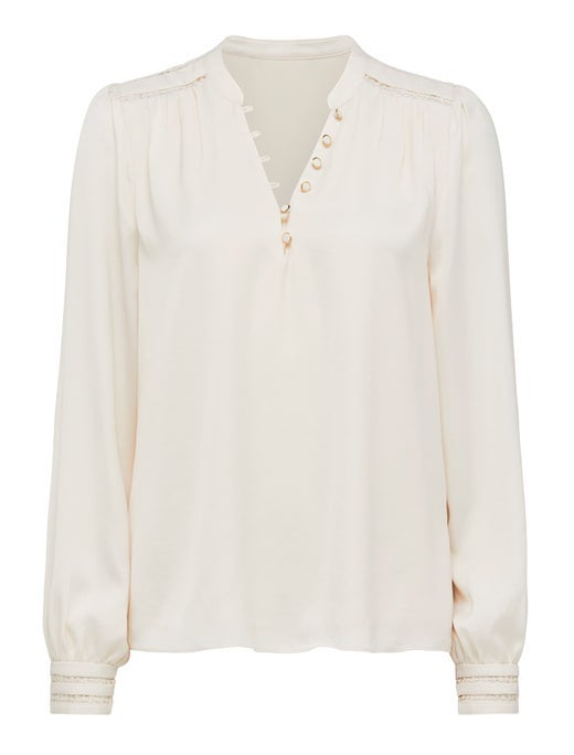 annabell trim insert blouse