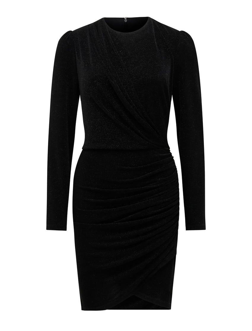 Ania Glitter Jersey Mini Dress