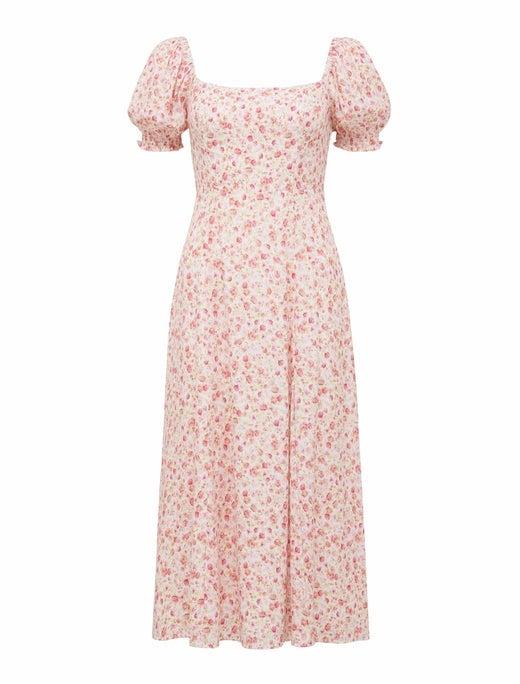 Brianna Printed Midi Dress