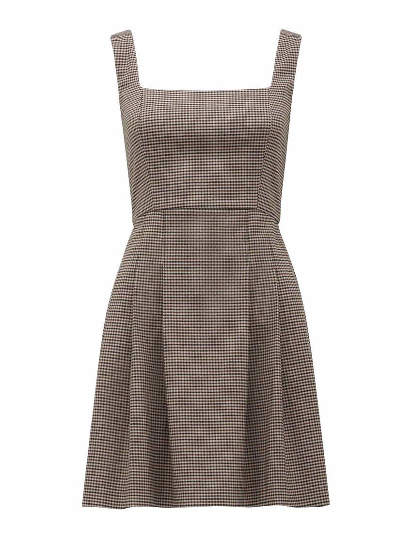 Easton Mini Pinafore Dress