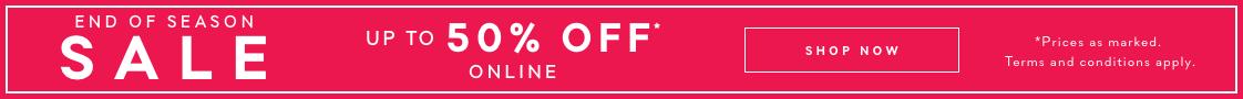 Soldes - End of Season Sale