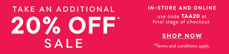 Forever New |Take An Additional 20% OFF* Sale