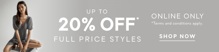 Forever New | Up to 20% OFF Selected Styles