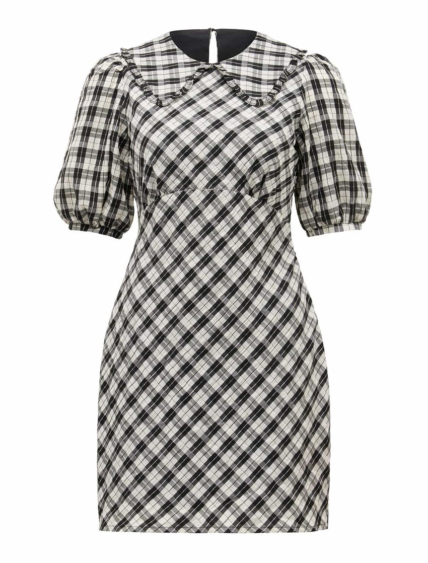 Peta Collared Mini Dress
