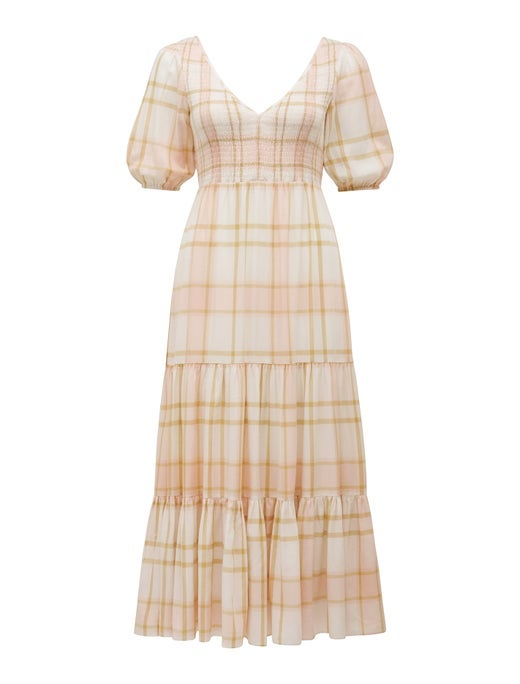 Amy Tiered Midi Dress