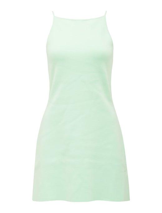 Elena A-line Mini Knit Dress