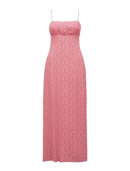 Lolita Split Midi Dress