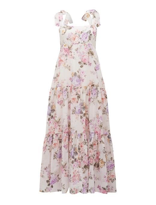 Milly Tiered Midi Dress